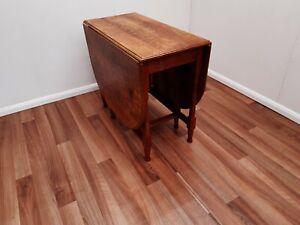 Oak Drop Leaf Table by Lyndon Hammell Cat & Mouse Man.