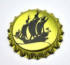 "Painting "" Dreimaster Sailing Ship Beer Bottle Cap USA Plastic Seal"