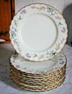 "NORITAKE BROOKHOLLOW 10 1/2"" Dinner Plate Elegant Design - 11 Available"