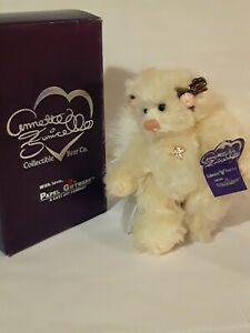 """ANNETTE FUNICELLO( 9 """" )FELICITY ANGEL TEDDY CORAL LIMITED EDITION #1,765/20,000"""