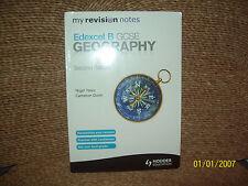Edexcel B GCSE Geography by Nigel Yates, Cameron Dunn (Paperback, 2013)