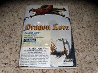 Dragon Lore IBM PC Game Sealed with manual