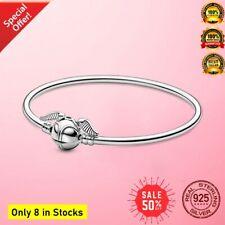 Harry Potter Authentic S 925 Sterling Silver Potter Snitch Bracelet  Bangle