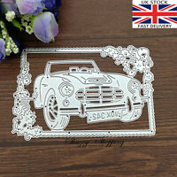 Sports car Framed Picture Background metal cutting die cutter UK Fast Posting