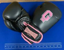 Tier 1 Boxing PinkGloves Black Leather