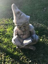 gnome reading book garden ornament garden decor