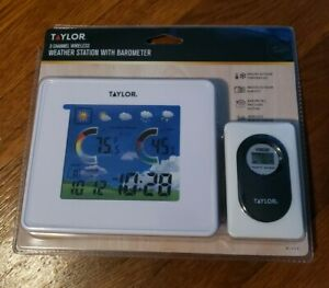 Taylor 3 Channel Wireless Weather Station with Barometer Model 1513 - Free Ship