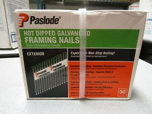 "PASLODE EXTERIOR FRAMING NAILS 3"" X .120 #650385 - QTY. 2,000"