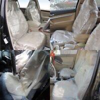 100pezzi Di Plastica Monouso Per Auto Coprisedili Protettivi Per Veicoli