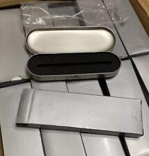 JOBLOT WHOLESALE 100 X EMPTY BRUSH STEEL METAL PEN PRESENTATION GIFT BOXES Xmas
