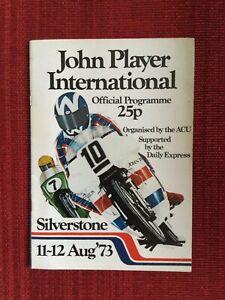 John Player International Programme, Silverstone 11-12 August 1973