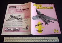 Vintage Aeromodeller Mag (May 1959) Taplin Twin Engine Analysis + Amazing Ads