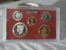 2010 S US MINT PARTIAL SILVER PROOF KENNEDY DIME DOLLAR NICKEL SET FREE SH