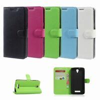 Flip Cover Schutz-Hülle zu ZTE Blade L5 Plus - BOOK EINFARBIG Handy-Tasche/Case