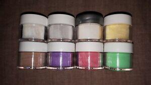 NSI Technailcolor Acrylic Powder 8 x  7g Assorted Color Set #8