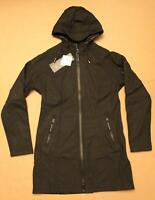 Ilse Jacobsen Women's Rain 37 Long Coat KB8 Black Size DE:38 US:8 NWT