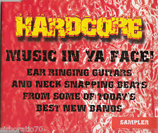 HARDCORE Music In Your Face CD - Sampler