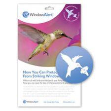 Window Alert 4 Hummingbird Decals Protect Wild Birds