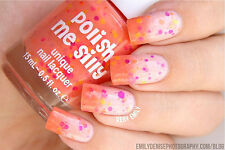 Creamsicle Surprise- -Color Changing Thermal Nail Polish: Custom-Blended Indie G