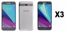 3 PC CLEAR SCREEN GUARD PROTECTOR FOR T-MOBILE SAMSUNG GALAXY J3 PRIME
