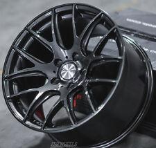 """18"""" ESR SR12 Gunmetal Wheels 18x8.5 +35 5x120 For Pontiac GTO  (Set 4 Rims)"""