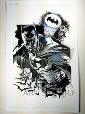 Original Batman Comic Book Art by Cris DELARA