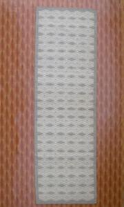 Striped 3x9 Runner Hand Woven Dhari Corridor Wool Rugs Indian Kilim Living Room
