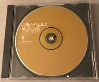 DEFAULT - LIVE A LIVE PROMO CD SINGLE (TVT 2315-2P)