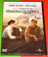 MEMORIAS DE AFRICA / OUT OF AFRICA English Español -DVD R2- Precintada