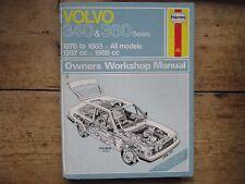 VOLVO 340 & 360 SERIES 1976 TO 1985 ALL MODELS HAYNES SERVICE AND REPAIR MANUAL