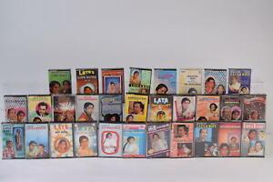 Lata Mangeshkar Bollywood Indian Cassette Tape Music Job Lot Bundle x30 Various
