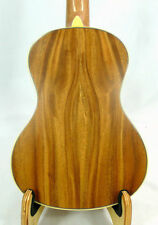 Alulu Solid Acacia Koa Tenor Ukulele, natural wood grain, hard case, HU836