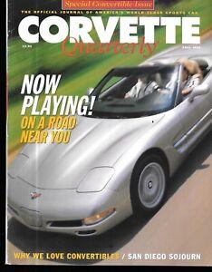 Corvette Quarterly Fall 1997 Ragtop Revival 1998 Convertibles C5 In Spain ZR-1