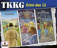 TKKG - KRIMI-BOX 23 (FOLGEN 187,188,189)   CD NEW