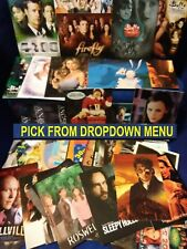 Tv (Television) & Other Non-Sport Promo Cards Buffy, Lost, X-Files, Supranos