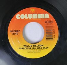 Country 45 Willie Nelson - Forgiving You Was Easy / You Wouldn'T Cross The Stree