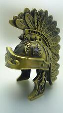 Gladiator Mini Gold Helmet Medieval Roman Greek Armor Gift