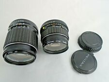 Small Job Lot of Pentax SLR Camera Lens *Untested*