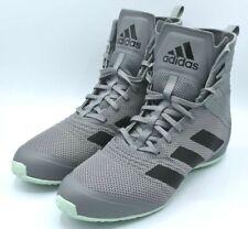 $150 Adidas Speedex 18 Boxing Shoes Boots Grey Green Men's Size 11 EG1033 NEW