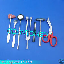 7 Pcs Set Diagnostic EMT Nursing Surigcal EMS Supplies DS-785
