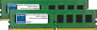 32GB (2 x 16GB) DDR4 2133MHz PC4-17000 288-PIN DIMM MEMORY KIT FOR DESKTOPS/PCS