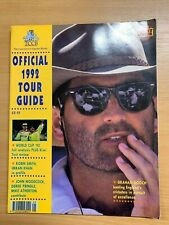 1992 TCCB LARGE ILLUSTRATED OFFICIAL 1992 TOUR GUIDE - GRAHAM GOOCH COVER