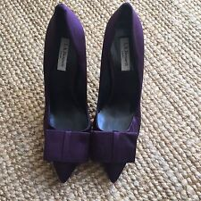 LK Bennett impresionante Zapatos arco de satén 40 | Reino Unido 7