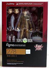 "In STOCK Figma ""Shirou Emiya 2.0"" Fate/Stay Fate Stay Night Action Figure 278"