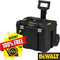 Dewalt DWST1-75799 T-Stak Mobile Storage Wheeled Box With Free 8m/26ft Tape