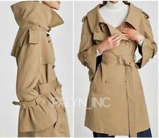 Cappotti e giacche da donna trench beige Zara
