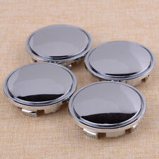 4pcs 65mm Chrome Car Wheel Center Caps Tyre Rim Hub Cover Fit for VW LY