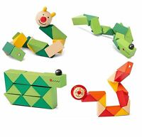Kids Wooden Twisty Fidget Animal Sensory Fiddle Toy Adhd Autism Stress Relief