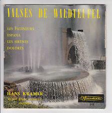 "45T VALSES WALDTEUFEL H KRAMER Vinyl EP 7"" LES PATINEURS - ESPANA -VISADISC 215"