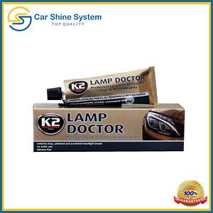 K2 LAMP DOCTOR Paste Headlight Scratch Restorer Repair Polish & Protects restore